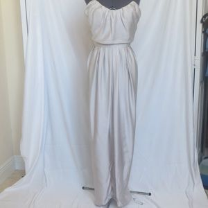 NWT Size 34 YSL Gray Gown